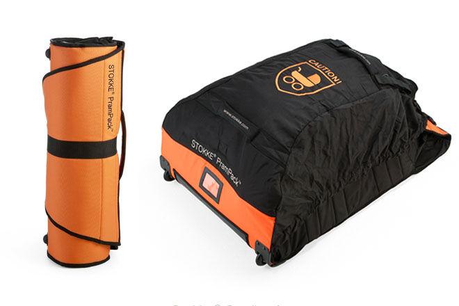 Stokke PramPack, a universal travel bag for prams