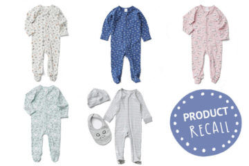 Target Organic Coverall Product Recall