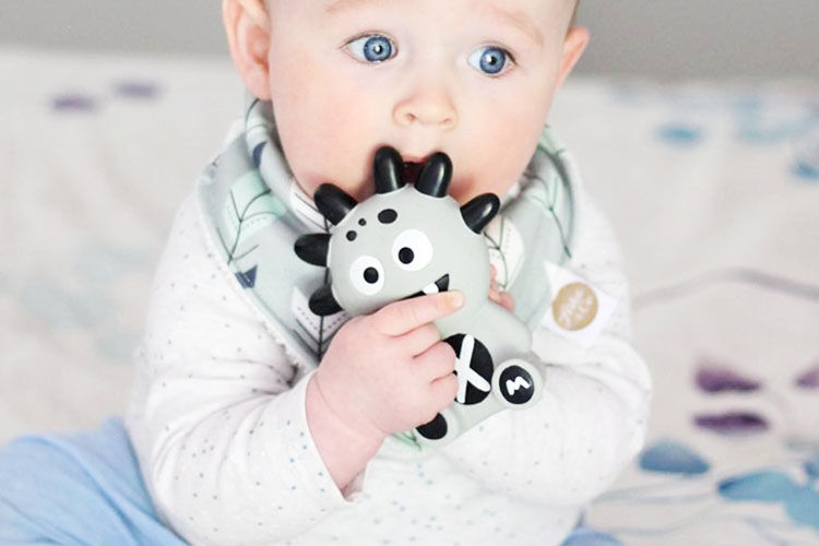 The Mibblers, a tribe of teethers for babies
