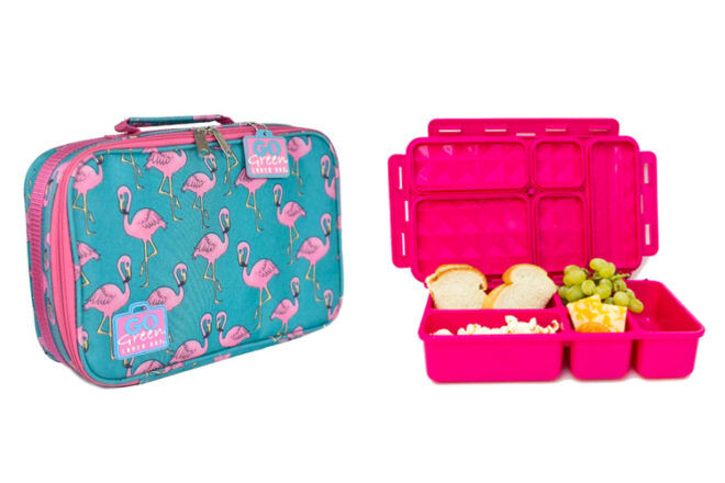 Go Green insulated lunch box set