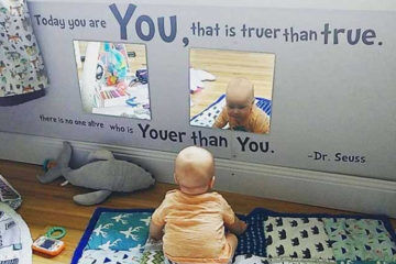 Baby Mirror Play Tip