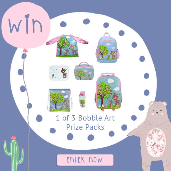 Bobble Art Back to school prize pack