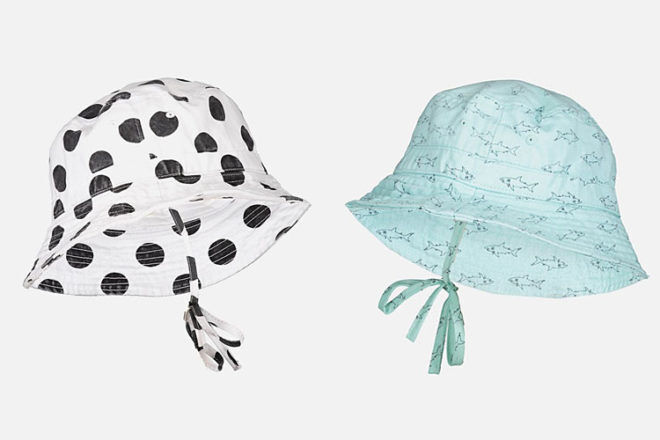 Cotton On toddler sun hats