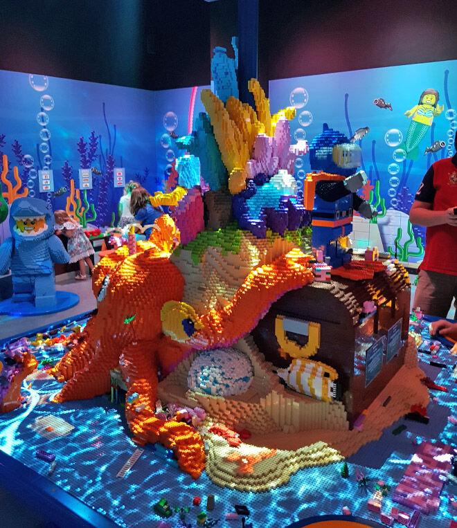 Legoland underwater