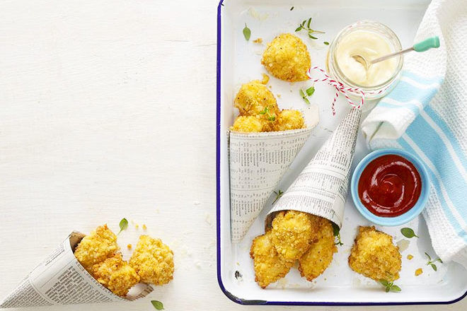 Lunch box chicken nuggets