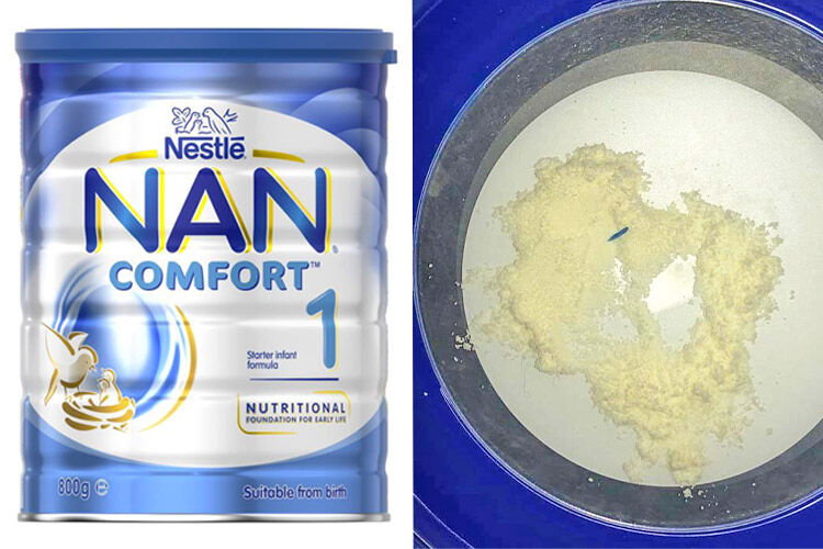 NAN Comfort 1 formula withdrawal