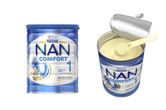 NAN formula withdrawal
