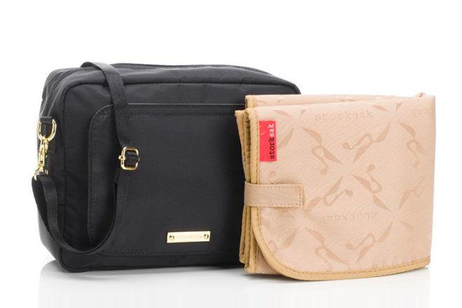 Stoksak Mini-Fix cross-body nappy bag