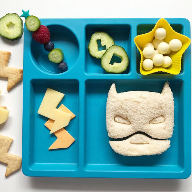 Superhero Sandwich Cutter
