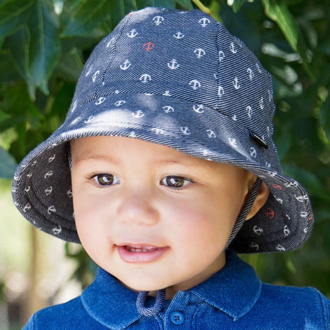 Toddler sun hats by Bedhead Hats