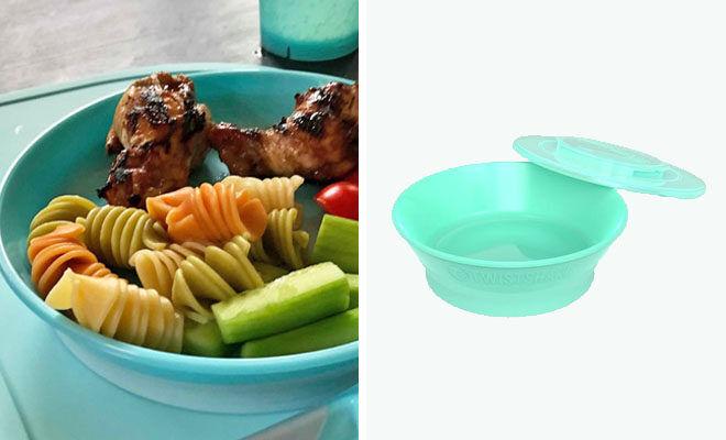 Twistshake bowl and lid