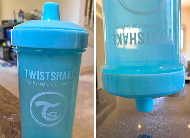 Twistshake Crawler Cup Blue