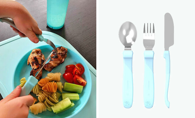 Twistshake Learn Cutlery set