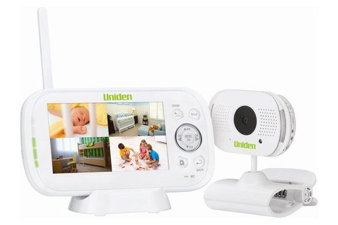 Uniden baby monitor security scare