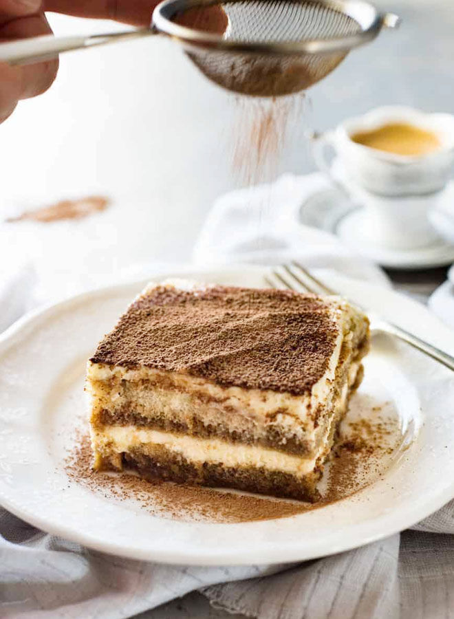 This easy tiramisu recipe is perfect Valentine's Day dessert