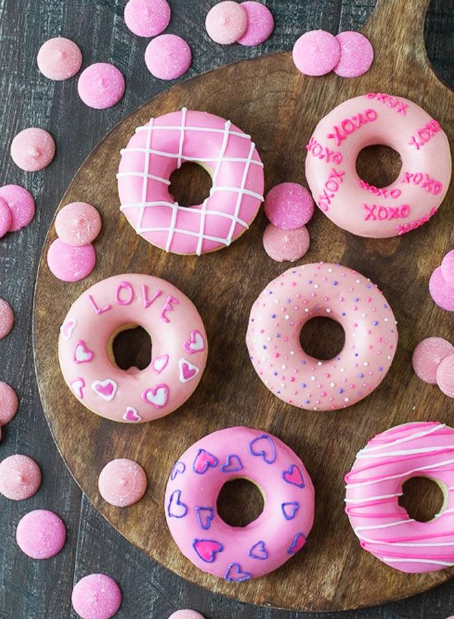 Valentine's Donut recipe