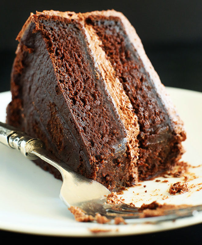 one-bowl vegan chocolate cake