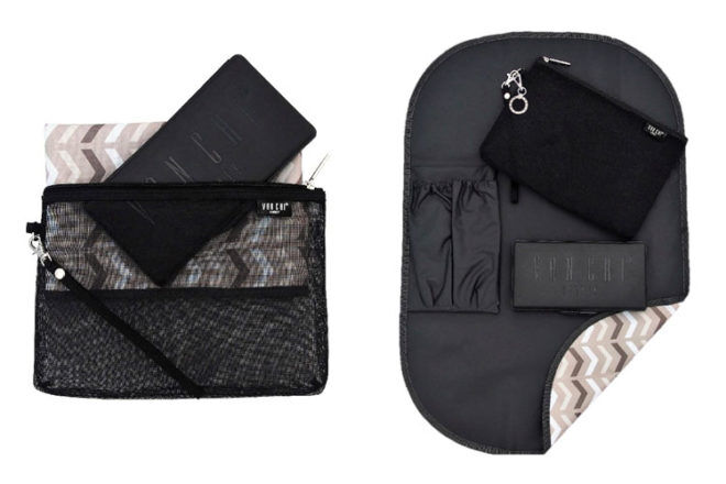 Vanchi Grab & Go change mat clutch