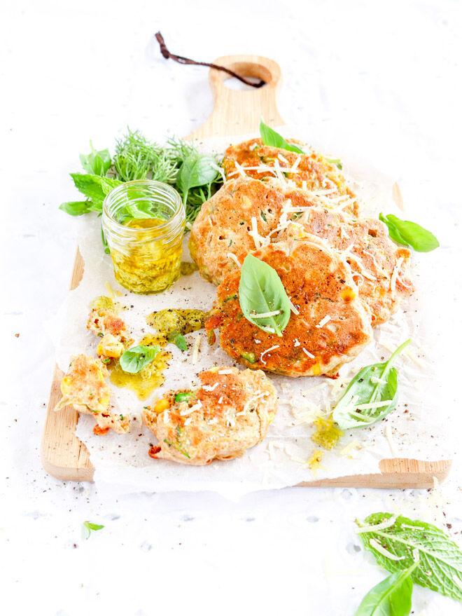 zucchini fritters lunchbox recipe