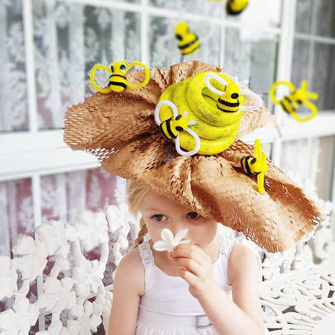 Bumble Bee Easter Parade Hat