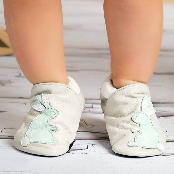 Flopsy baby bunny shoes, Cheeky Little Soles