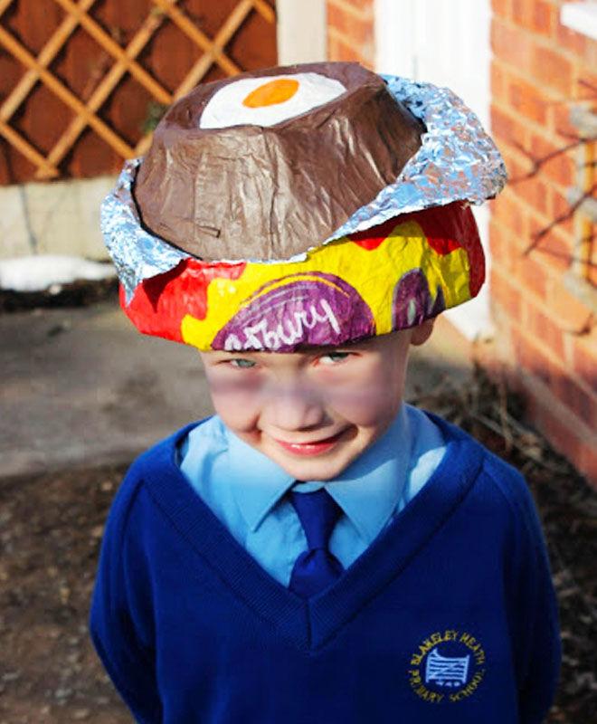 Cream Egg Easter Bonnet Idea