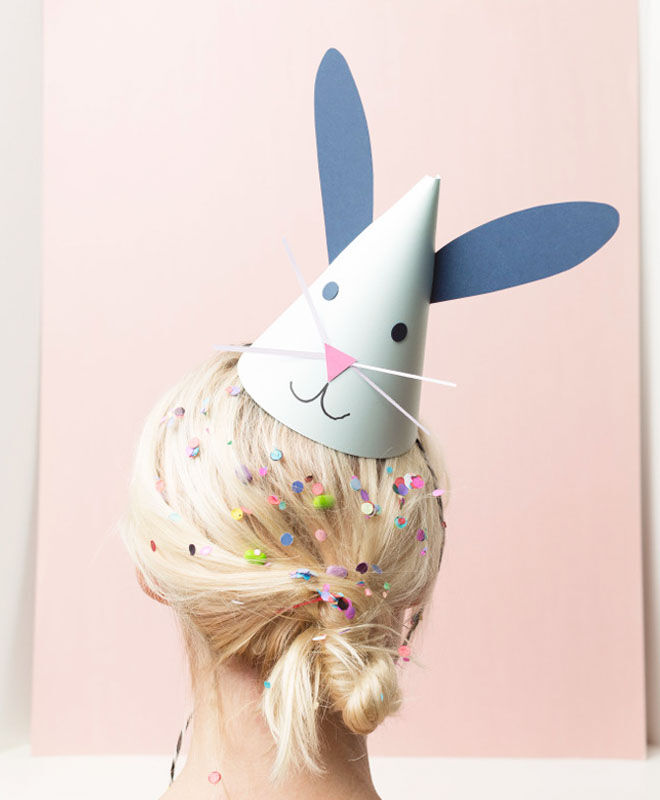 Easter Bunny Party Hat Idea