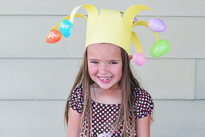 Easter Egg Crown Idea