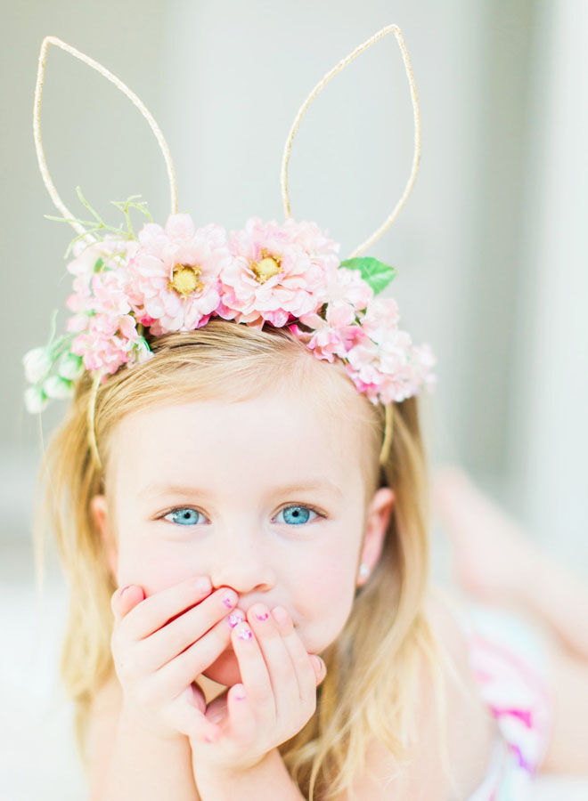 Easter Floral Crown Idea