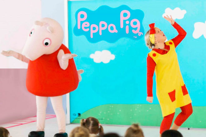 The Essential Baby & Toddler Show 2019 features performances from Peppa Pig and Ben & Holly