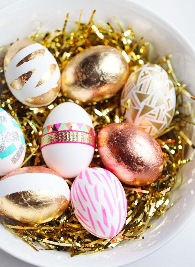 Festival style Easter egg DIY