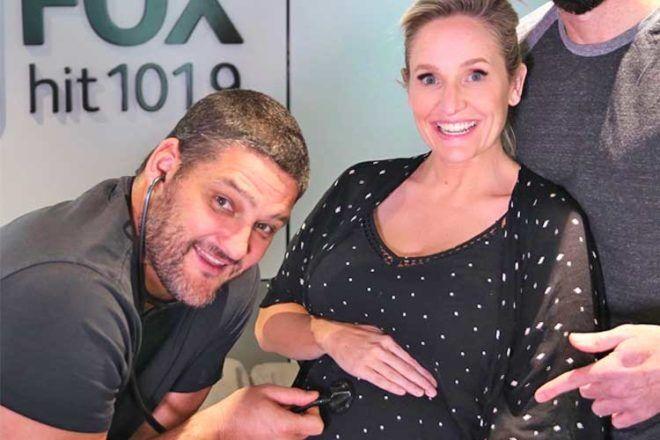 Fifi Box pregnant