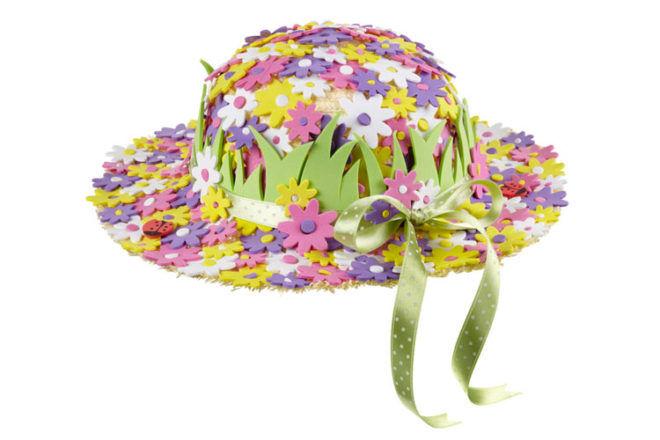 Flower Easter Bonnet Idea
