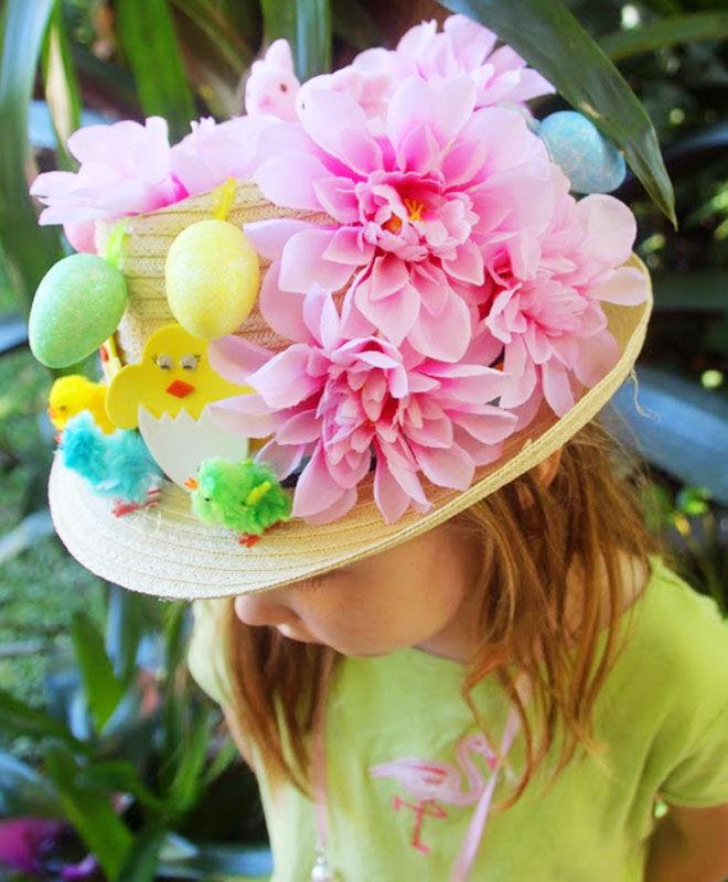 Traditional Easter Bonnet Idea