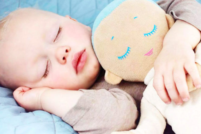 Lulla Doll to help baby to sleep