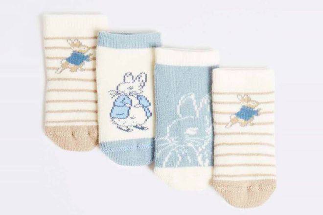 Peter Rabbit baby socks, Marks & Spencer