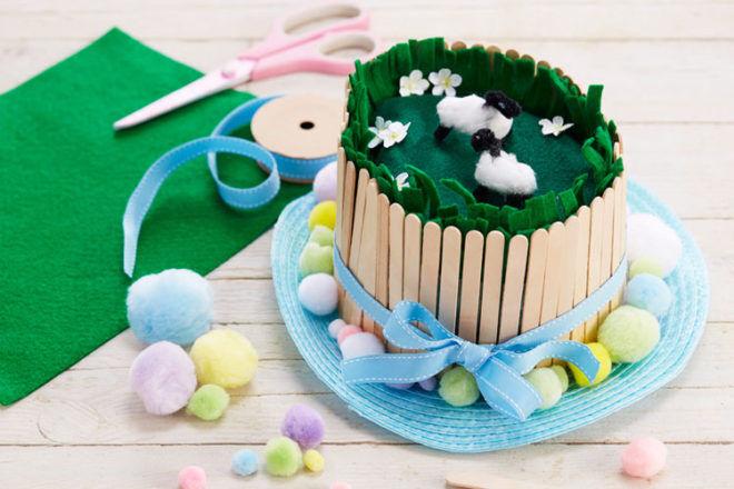 Meadow Easter Bonnet Idea