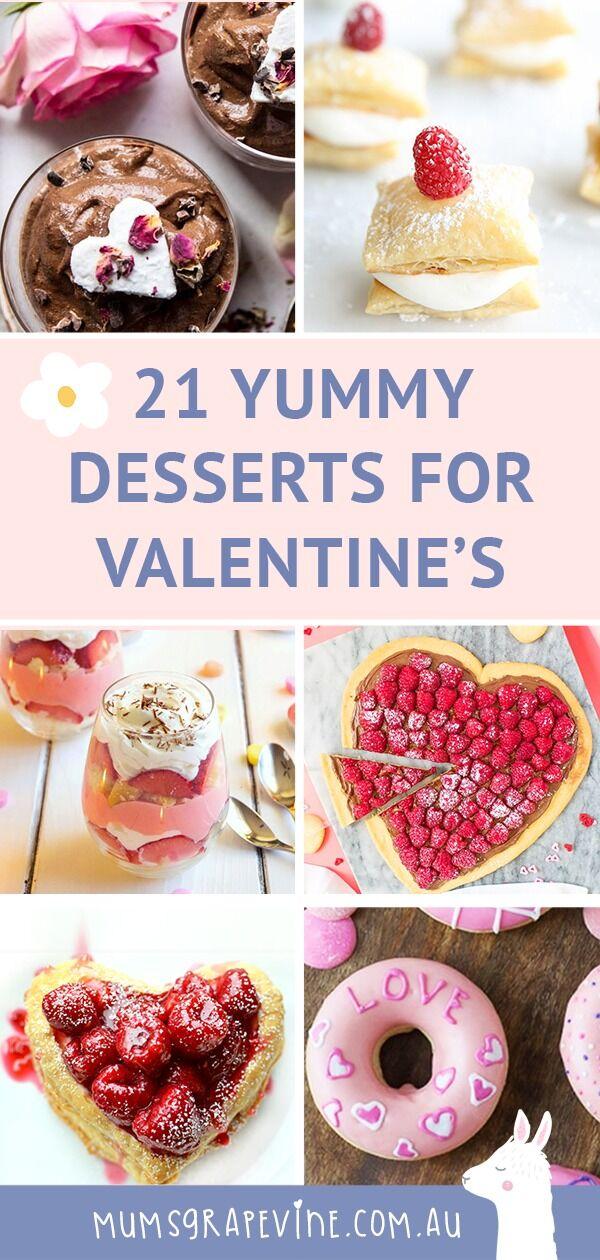 21 Decadent Valentine's Dessert Ideas
