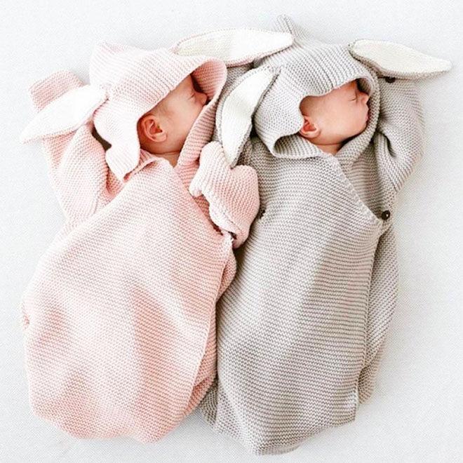 Bunny baby sleeping bag
