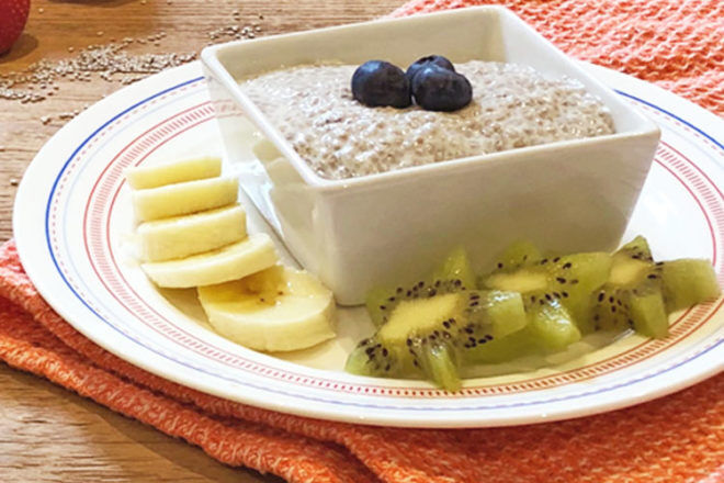 Recipe for quick and easy kids chia pudding | Mum's Grapevine