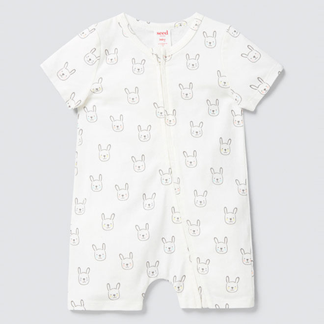 Bunny zip suit, Seed Heritage