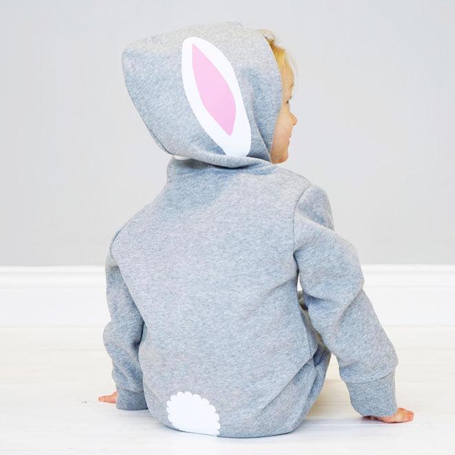 Rabbit ears onesie, Sparks & Daughters