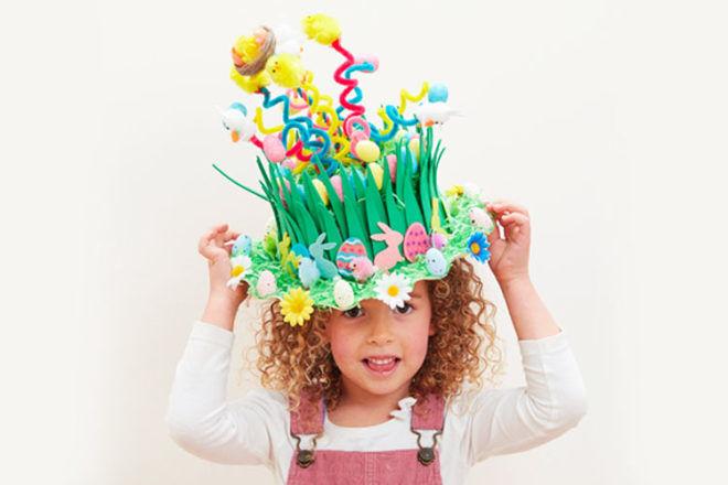 Spring Easter Bonnet Idea