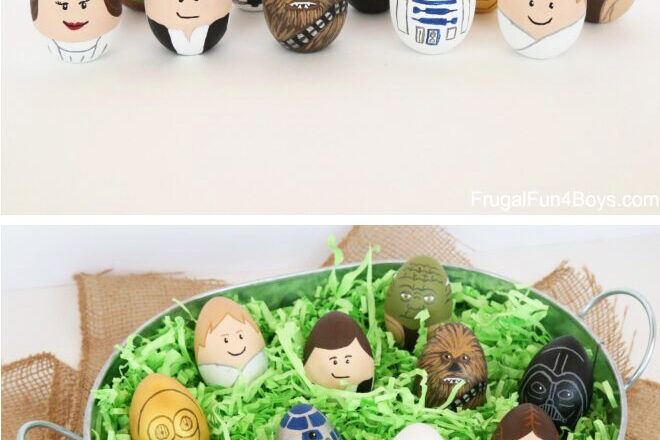 Star Wars Easter egg decorating idea