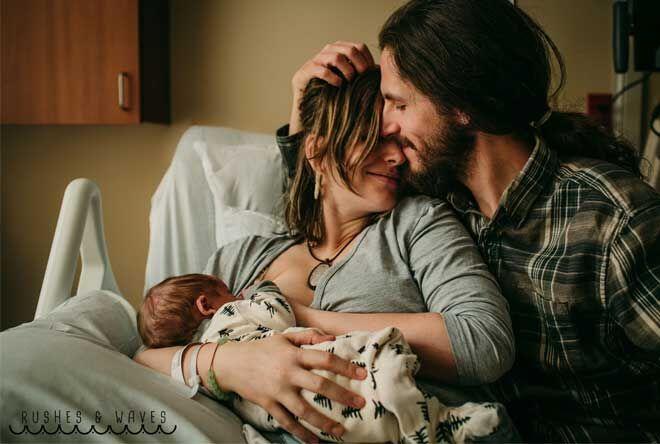 Post birth photo