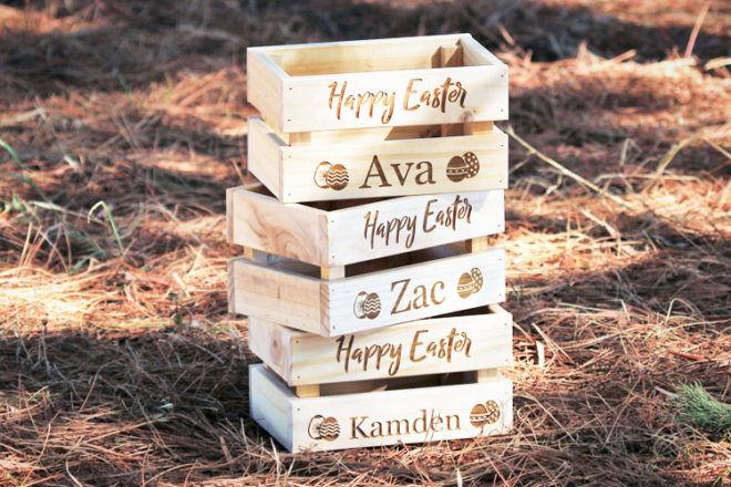 Easter keepsake box, Timbox Designs