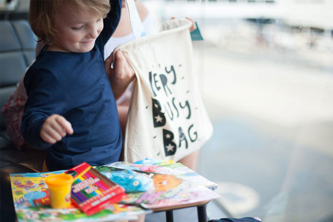 Very Busy Bag, a bag of activities for kids | Mum's Grapevine