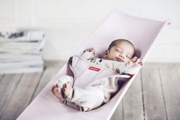 Baby Bjorn baby bouncer pink