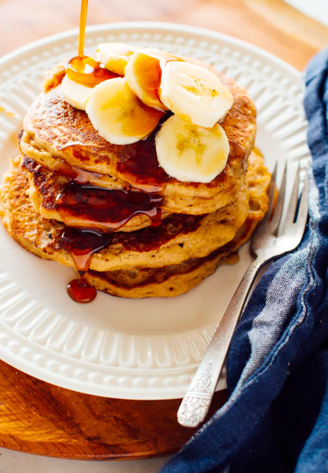 Banana pancake recipe for a healthier breakfast