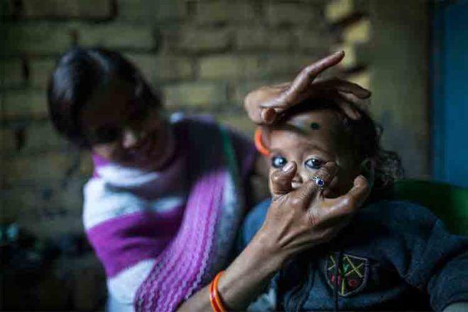 Indian birth ritual